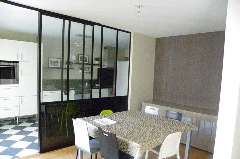 porte coulissante home factory. Black Bedroom Furniture Sets. Home Design Ideas